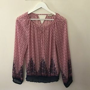 Lucky Brand Boho Top - Hold for @francieroy